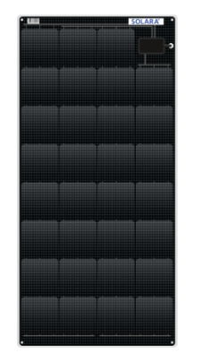 Solar Panel Flexible 105Wp 1120x545x4mm
