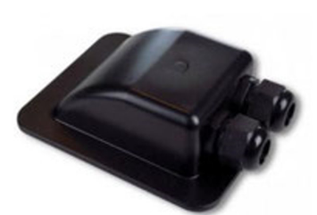 Roof grommet Double Entry Black