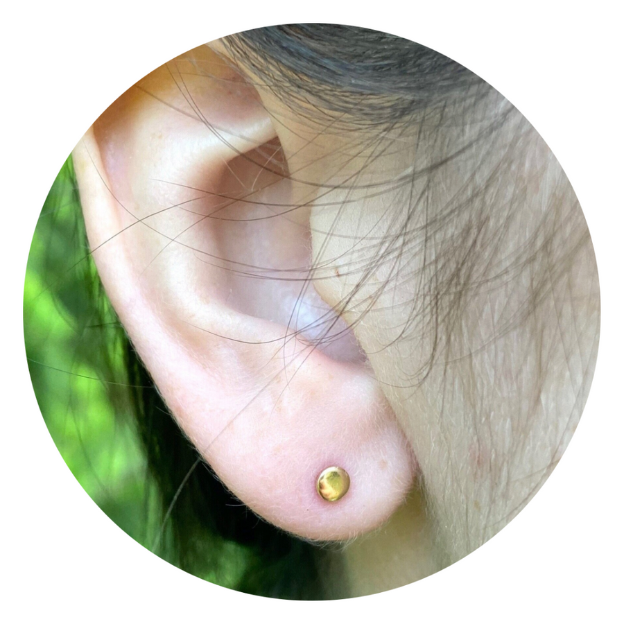 Teeny Tiny Circle Studs