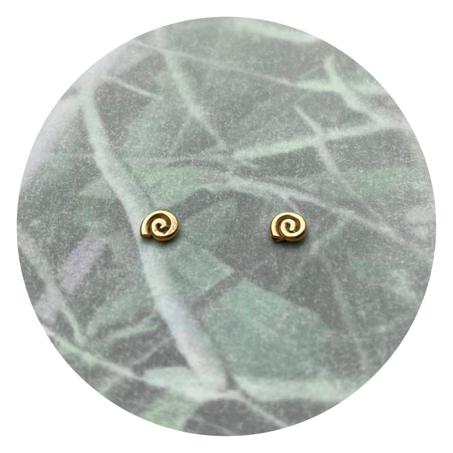 Teeny Tiny Swirl Studs - Wholesale
