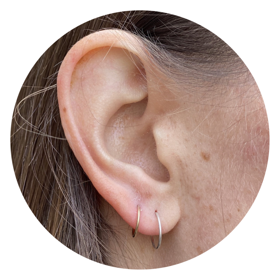 Tiny Hoops - Ear and Nose - Wholesale