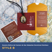 Load image into Gallery viewer, Nuestra Señora del Carmen de San Sebastian Devotional Necklaces