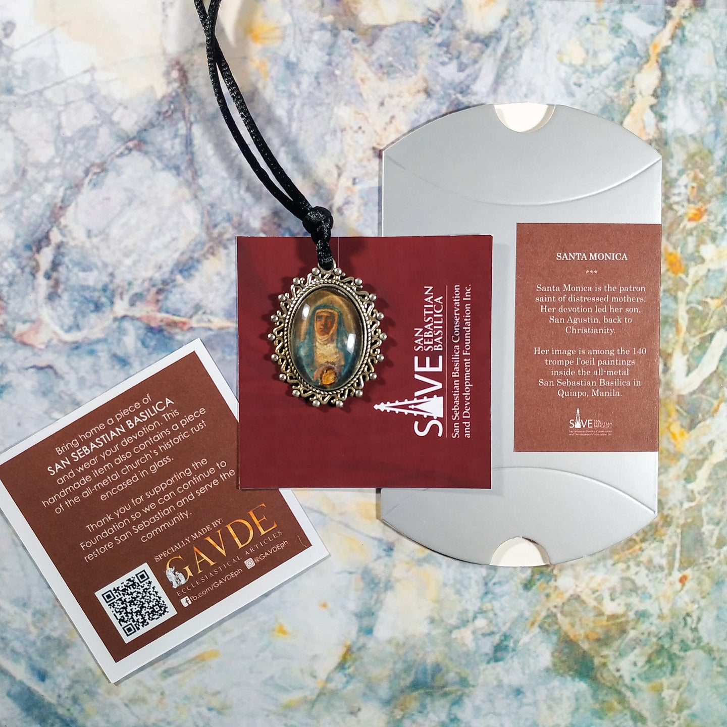 Santa Monica Devotional Necklace