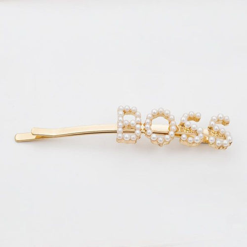 'Boss' Pearl hair pin