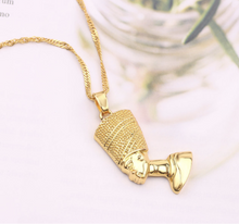 Load image into Gallery viewer, Nefertiti necklace