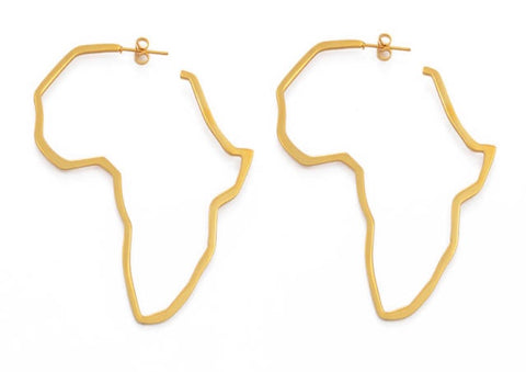 Medium Africa hoop Earrings
