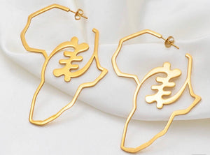 Adinkra Earrings