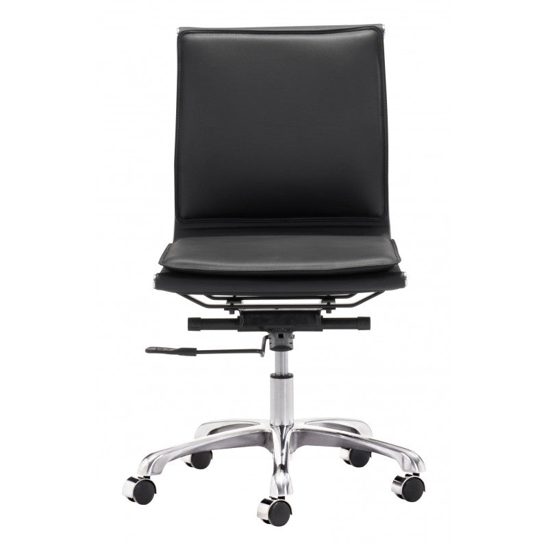 Glider Armless Desk Chair