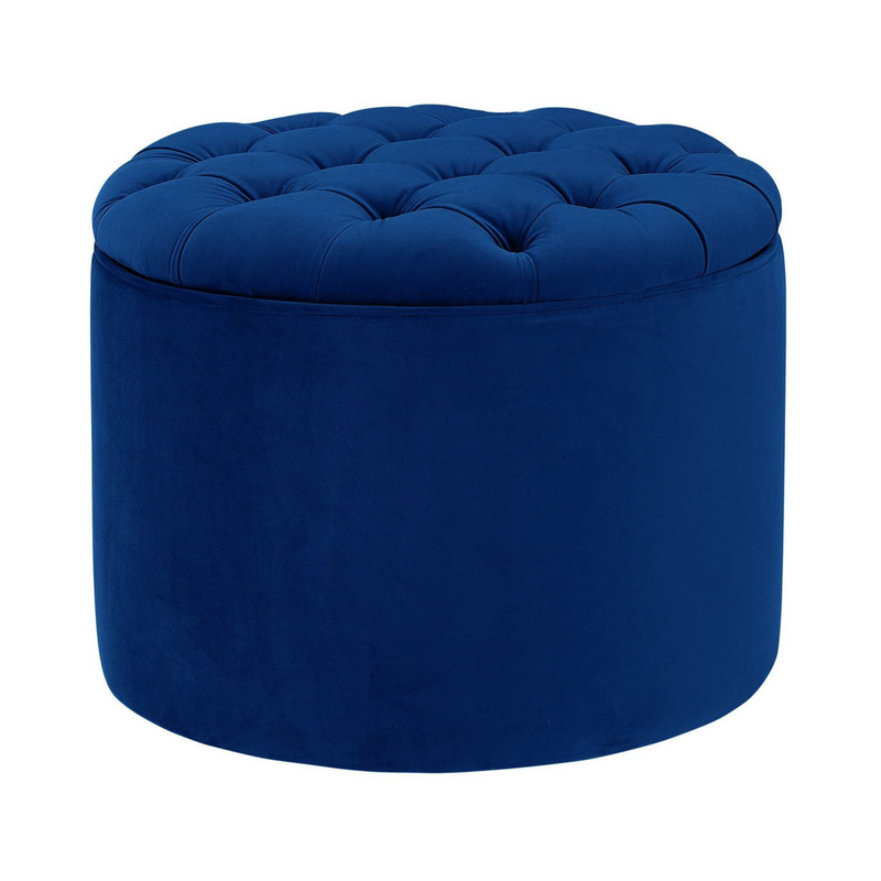 Lehigh Valley Furniture Store Chic Trendy Velvet Ottoman Foot Stool Discount Loft Value Collection Storage Tufted