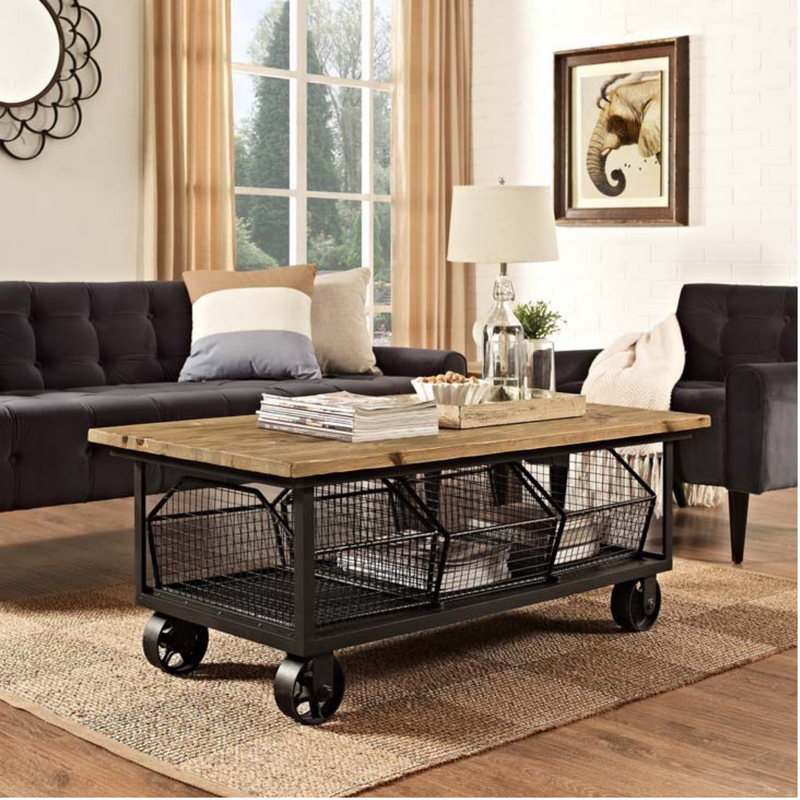 Birmingham Basket Coffee Table