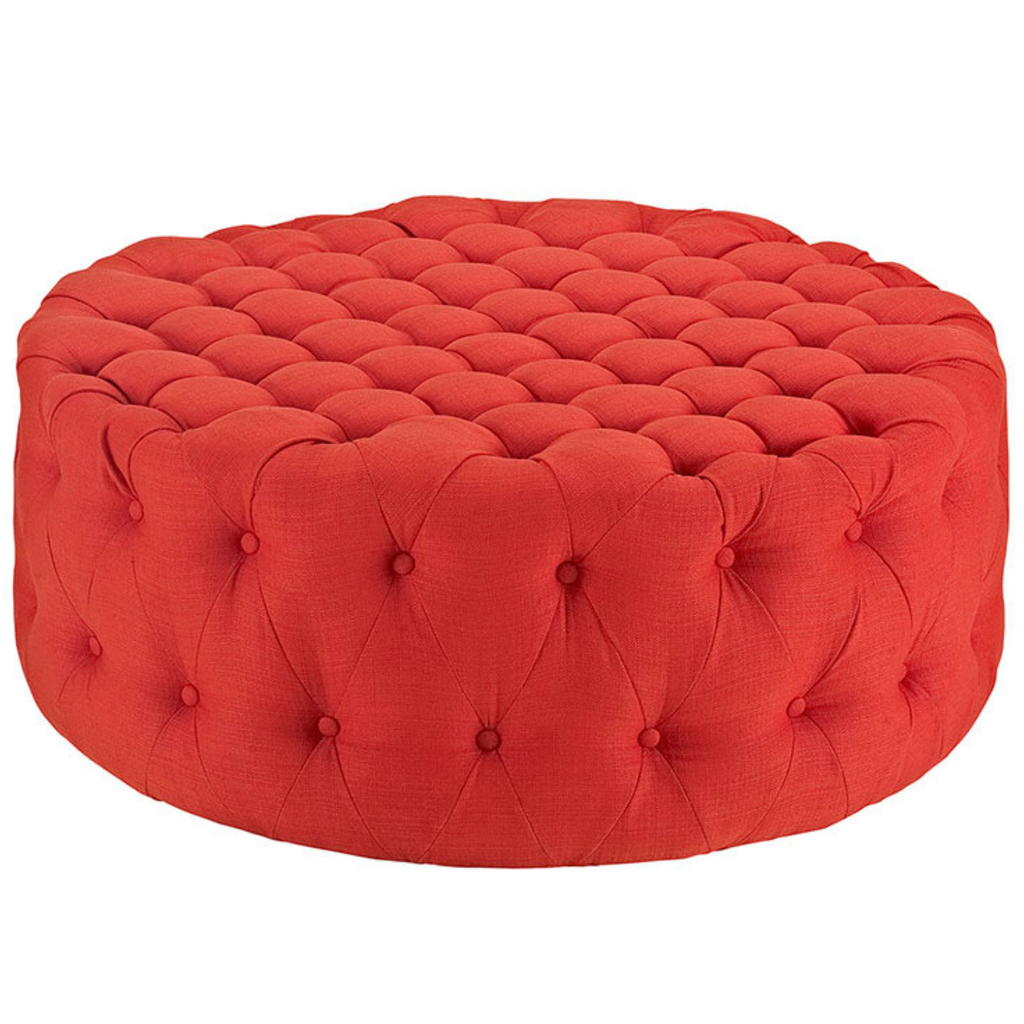 Andres Upholstered Ottoman