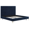 Lehigh Valley Furniture Store Chic Trendy Discount Bed Frame Velvet Upholstered Cheap Loft Value Collection