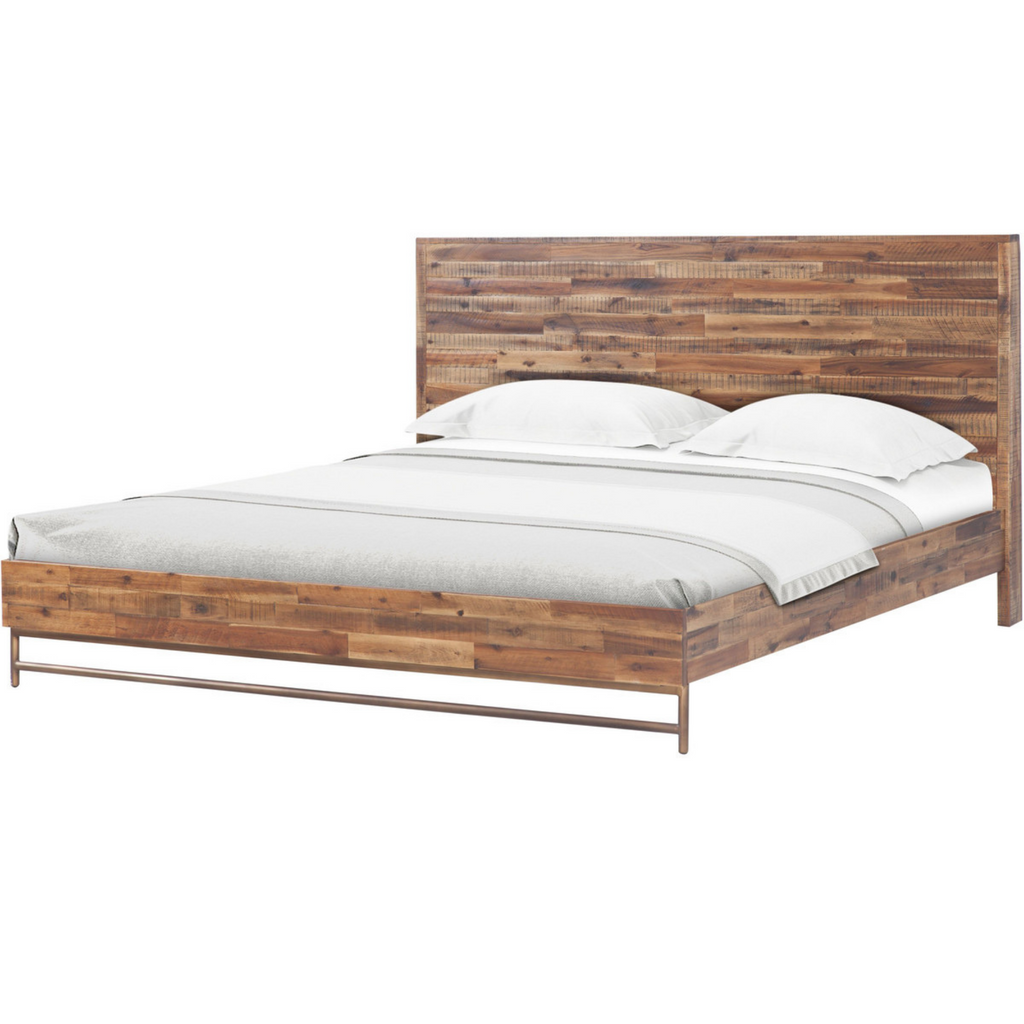 Boerum Hill Wooden Bed