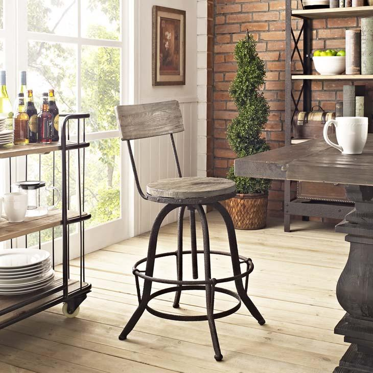 Sammy Adjustable Bar Chair