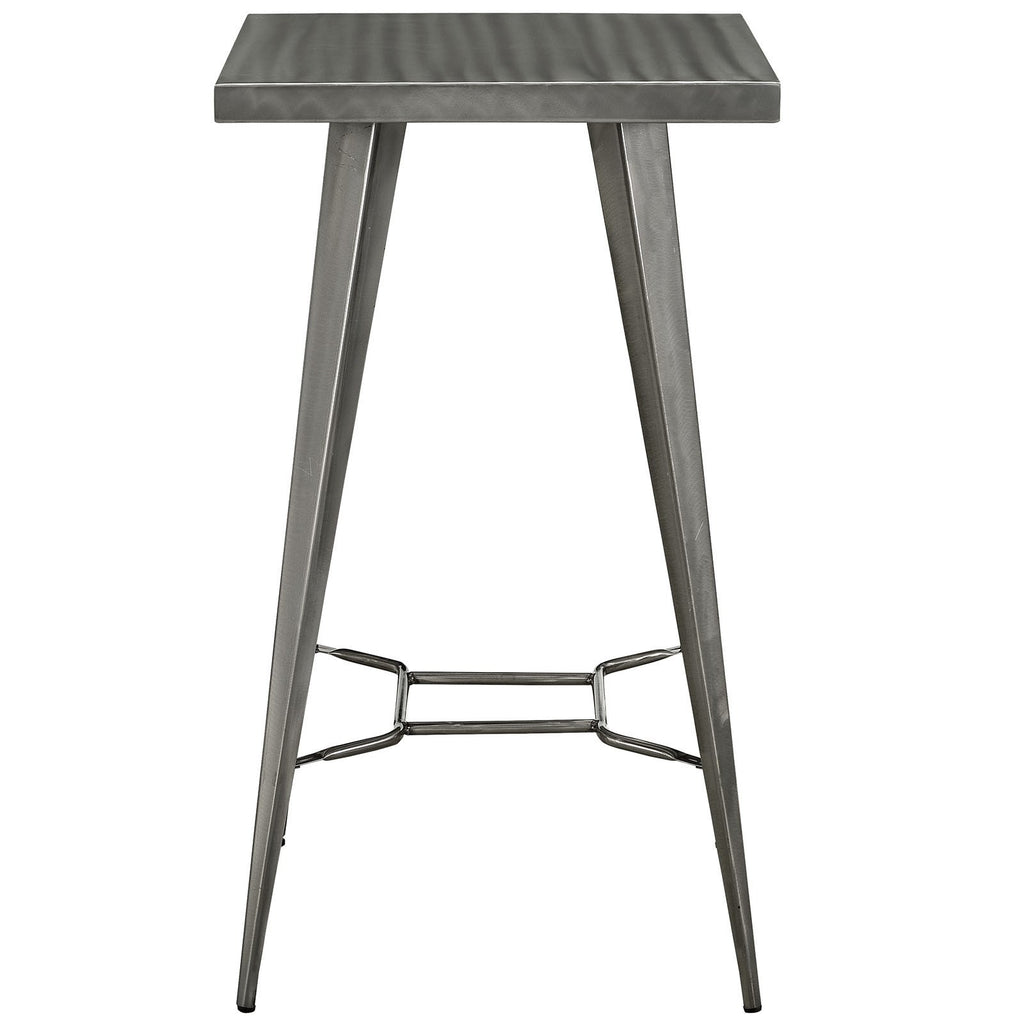 Metallica Gunmetal Bar Table