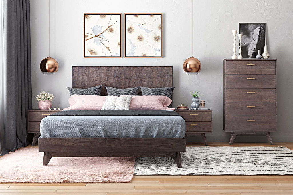 Offerman Wooden Bed