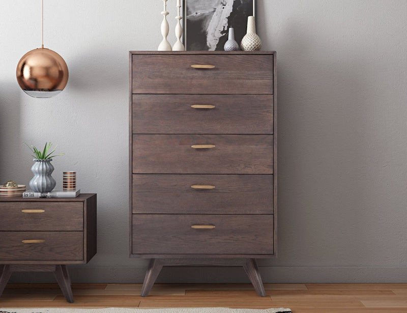 Offerman Wooden 5 Drawer Chest
