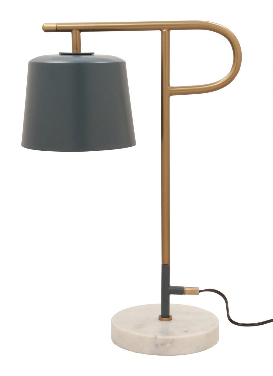 Bianca Marble Base Table Lamp