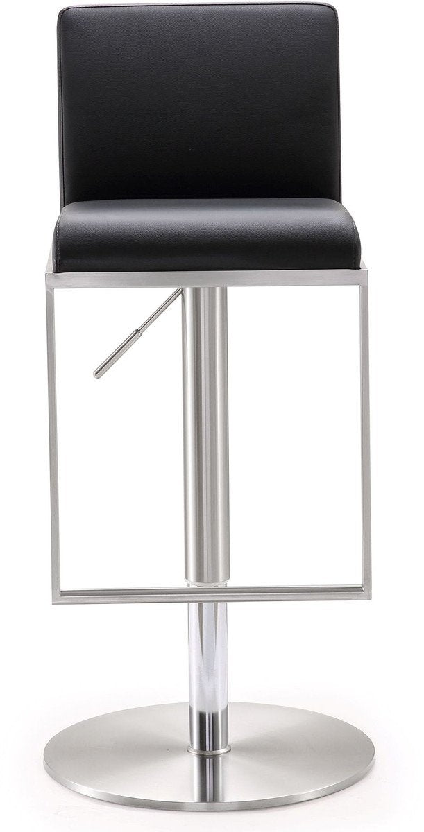 Whalton Stainless Steel Adjustable Barstool