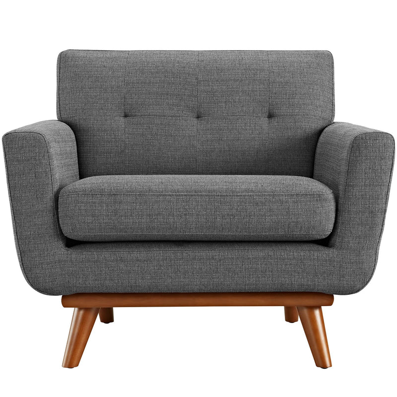 San Jose Fabric Arm Chair