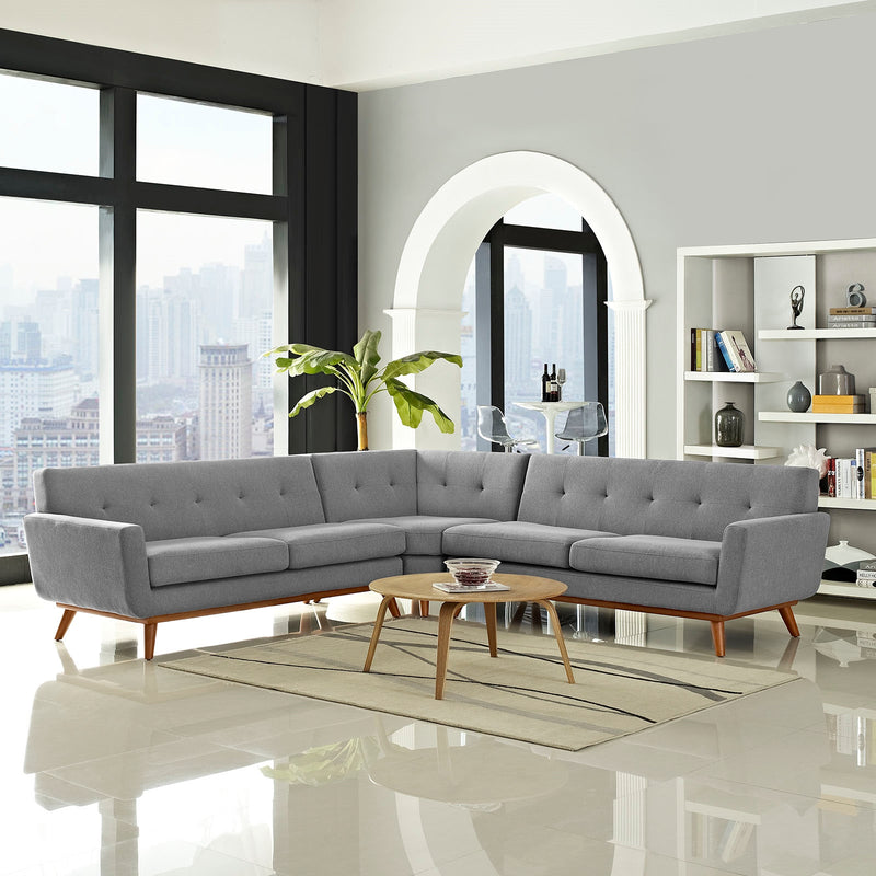 San Jose L-Shaped Sectional Sofa