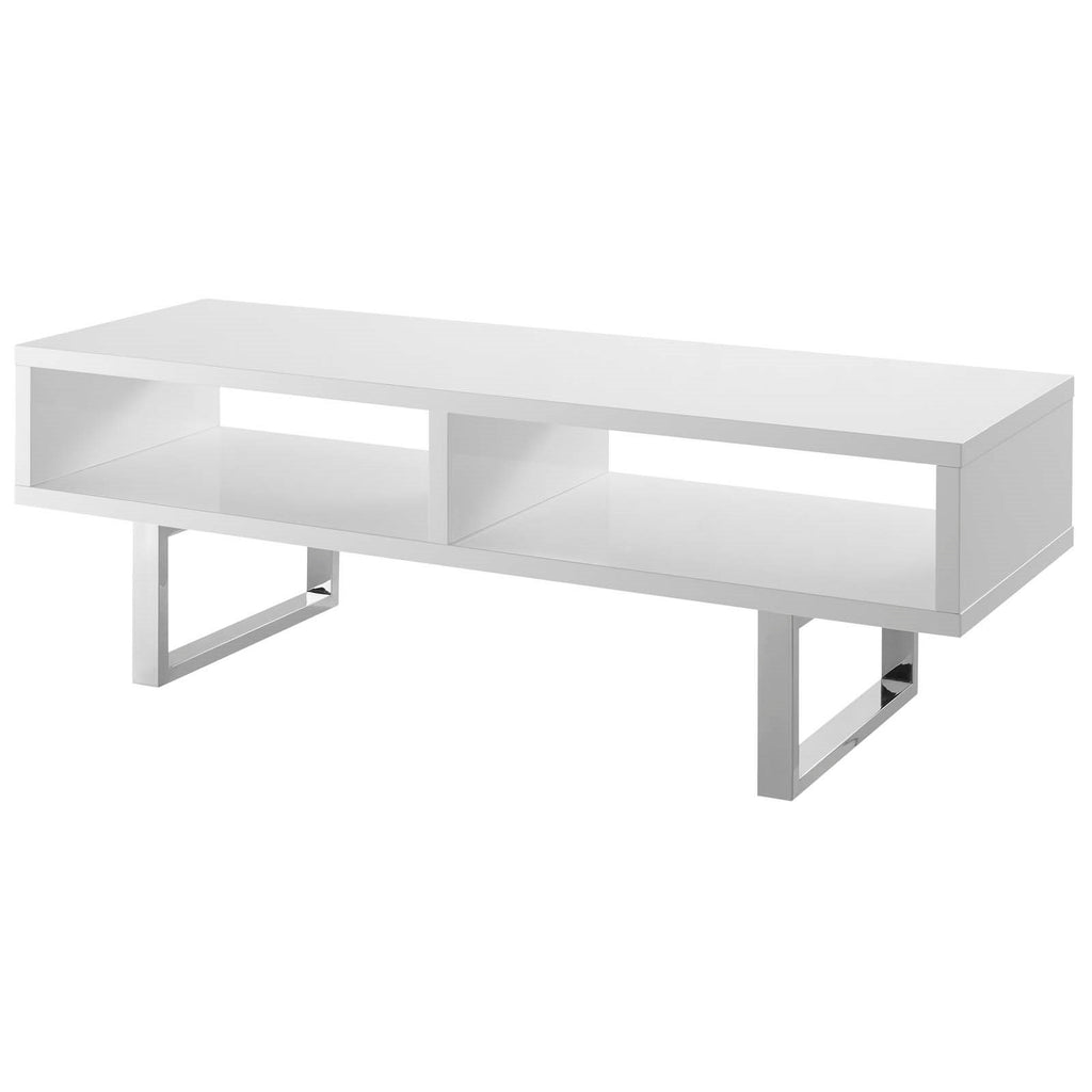 Wander Low Profile Media Shelf