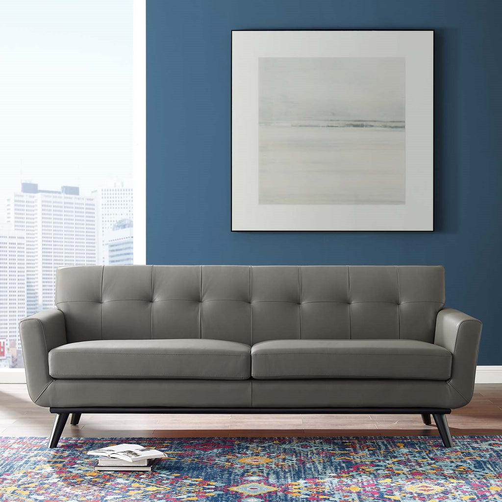 San Jose Leather Sofa