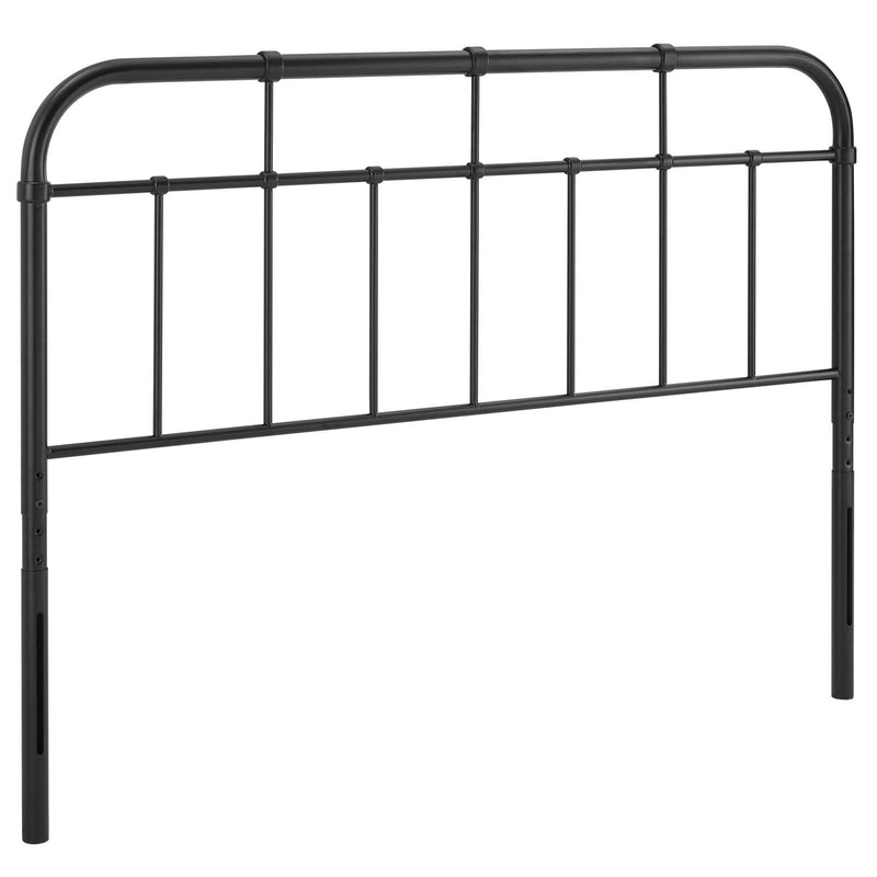 Woodstock Metal Headboard Black