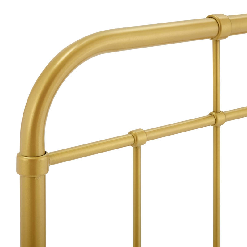 Woodstock Metal Headboard Gold