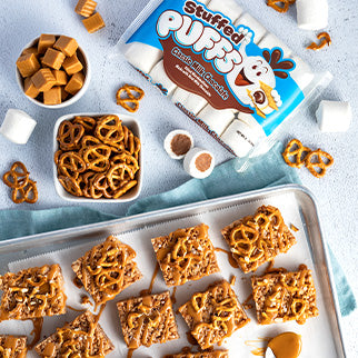 Salted Caramel Krispies