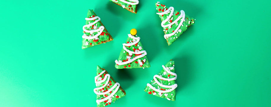 holiday krispie treats