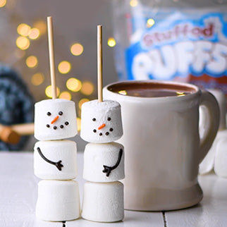 Hot Chocolate Snowman Pals