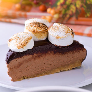 S'mores Chocolate Cheesecake