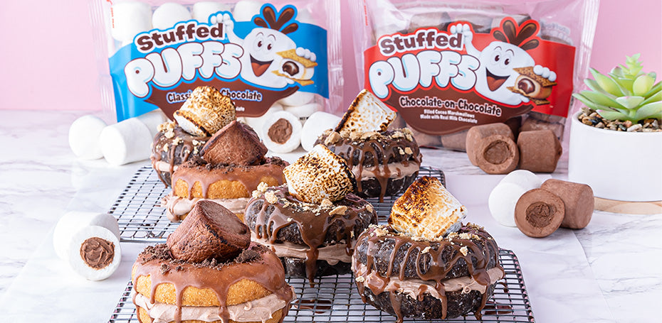 Stuffed Puffs® S'mores Donuts