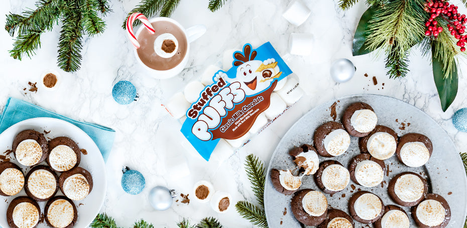 Stuffed Puffs® Hot Cocoa Cookies