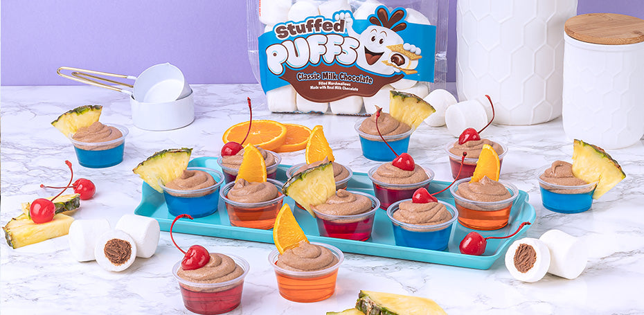 Stuffed Puffs® Jello Shots
