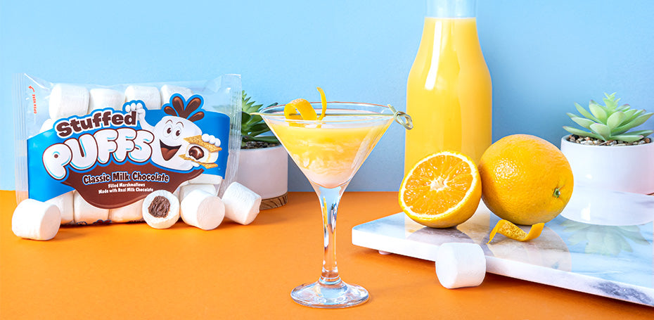 Stuffed Puffs® Orange Martini