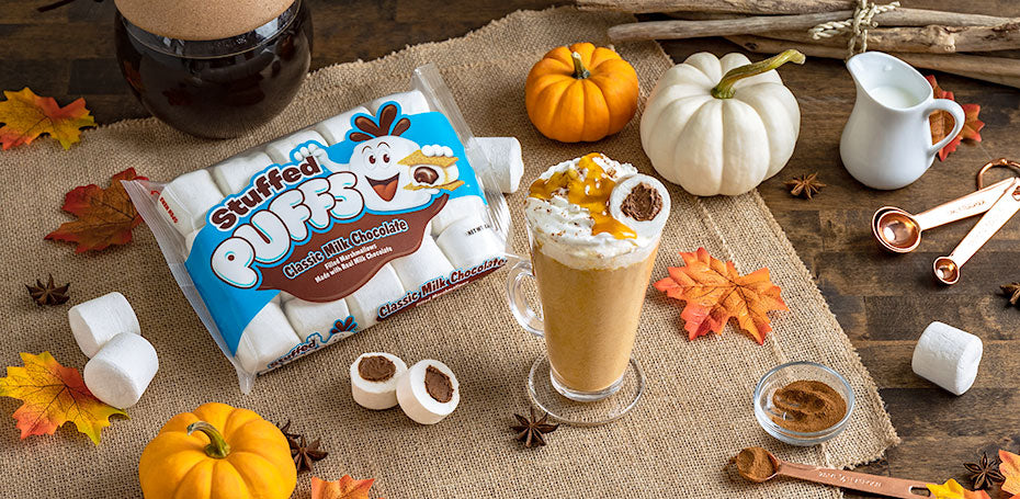 Stuffed Puffs® Pumpkin Spice Latte