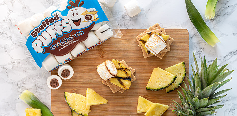 Stuffed Puffs® Pineapple S'mores