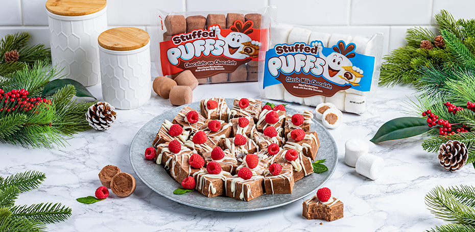 Stuffed Puffs® Marshmallow Fudge