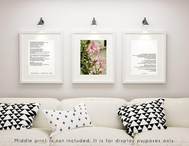 Desiderata Poem Prints Set Of 2 - BookQuoteDecor