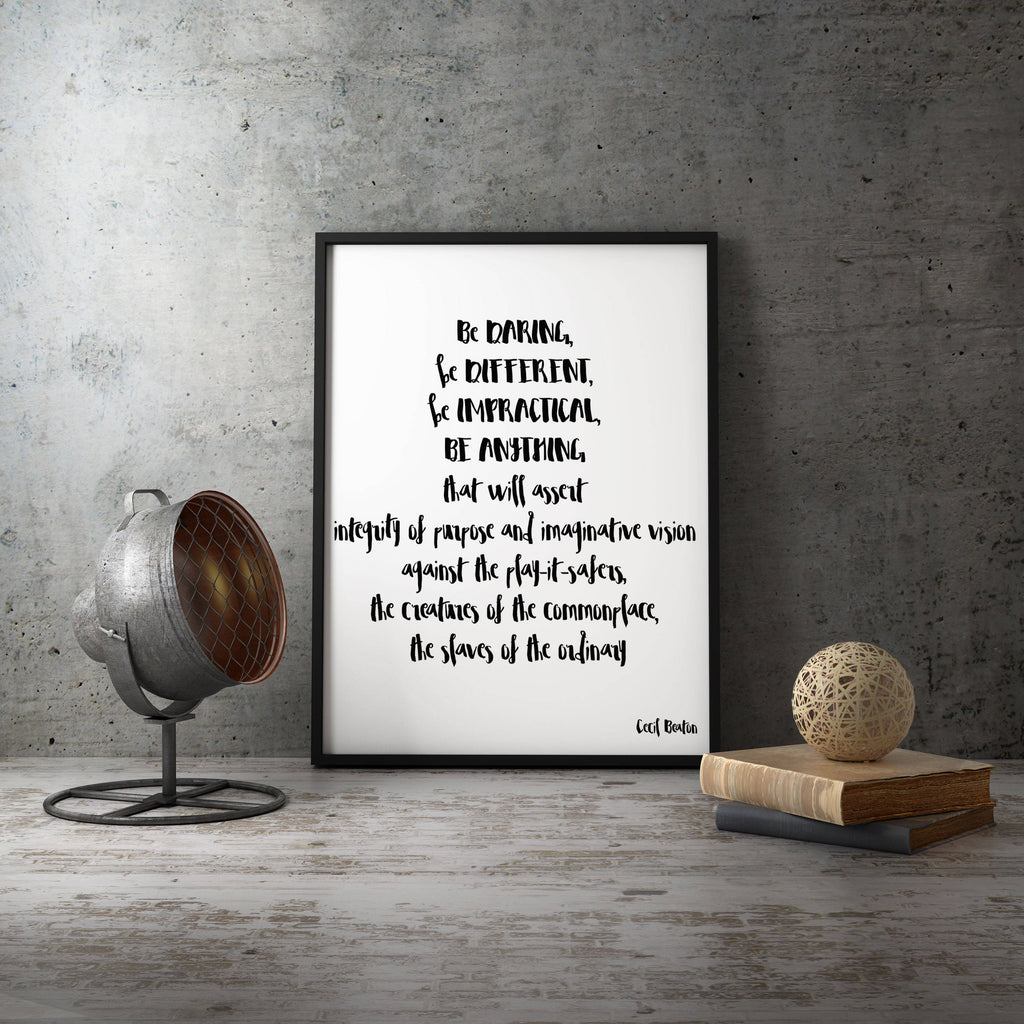 Custom Framed Art Print - BookQuoteDecor