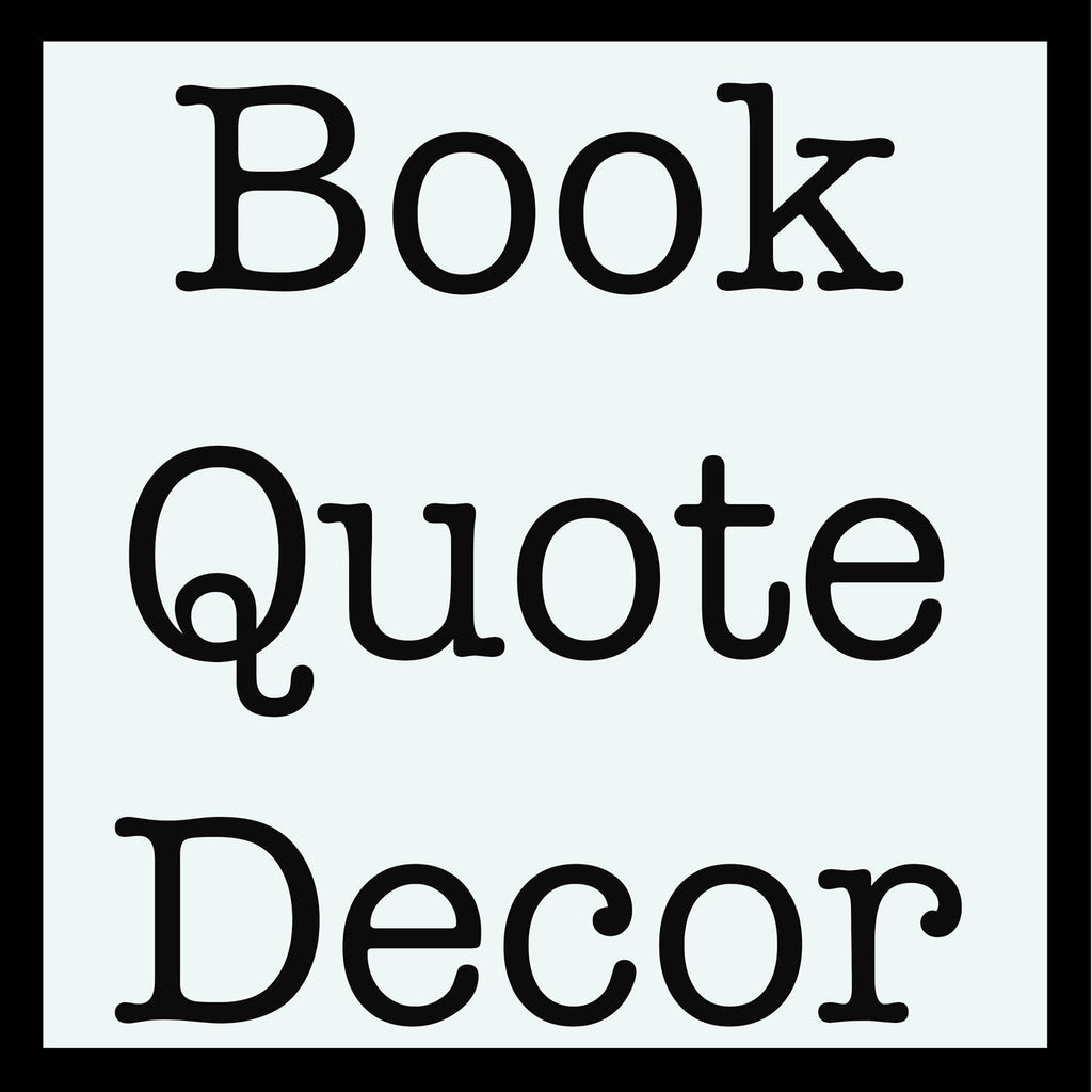 Hans Christian Andersen Quote Print - BookQuoteDecor