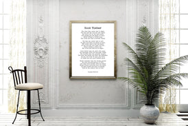 Good Timber Poem Thomas S Monson Print - BookQuoteDecor