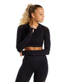Vibe Fit Black / S Hexa Seamless Long Sleeve Top