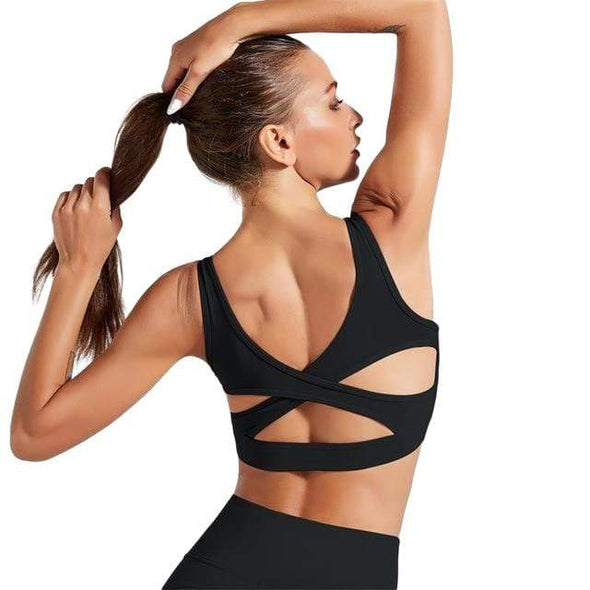 Vibe Fit Energize Seamless Sports Bra