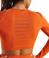 Vibe Fit Hexa Seamless Long Sleeve Top