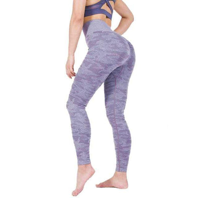 Vibe Fit Leggings Lavender Purple / XL Camo Connect Leggings
