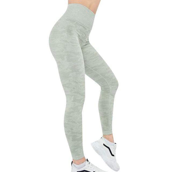Vibe Fit Leggings Lush Green / S Camo Connect Leggings