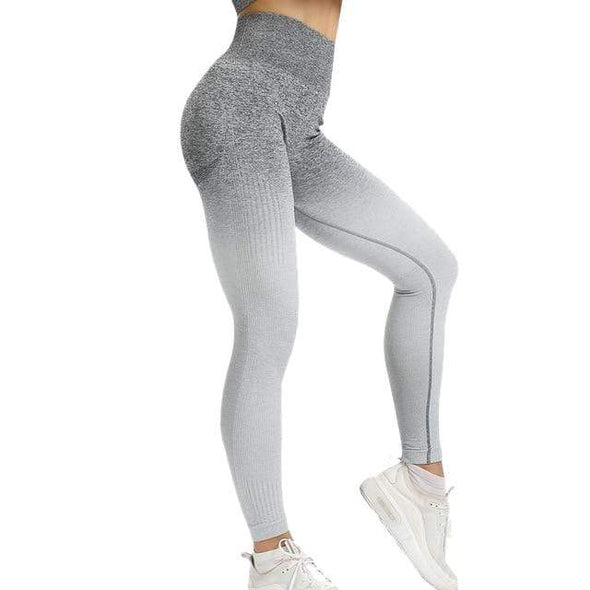 Vibe Fit Leggings Moon Gray / S Gradient Leggings